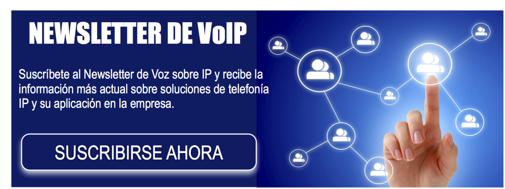 CTA Newsletter Voz sobre IP