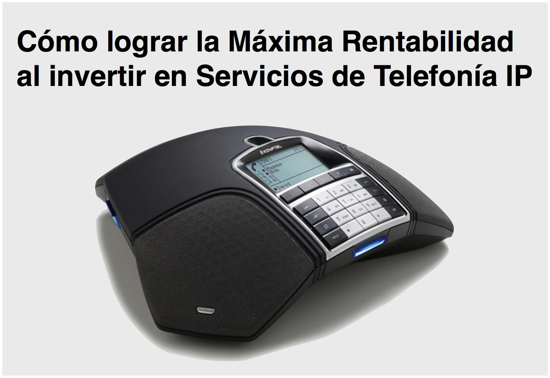 Servicios de Telefonía IP en Madrid