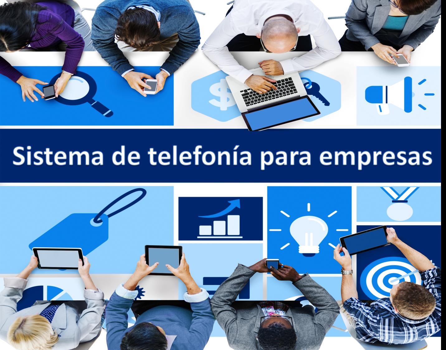 Sistema de telefonía para empresas en Madrid