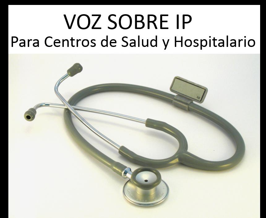 Voz sobre IP en Madrid SANIDAD